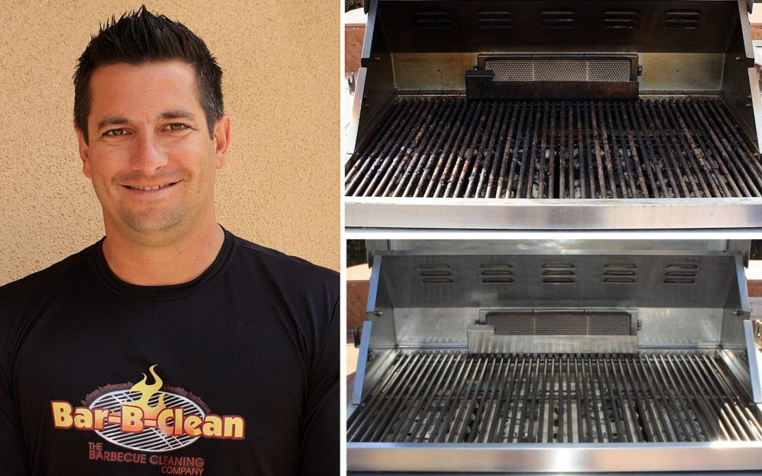 Barbecue much? This man wants to clean up your mess, rats nests included